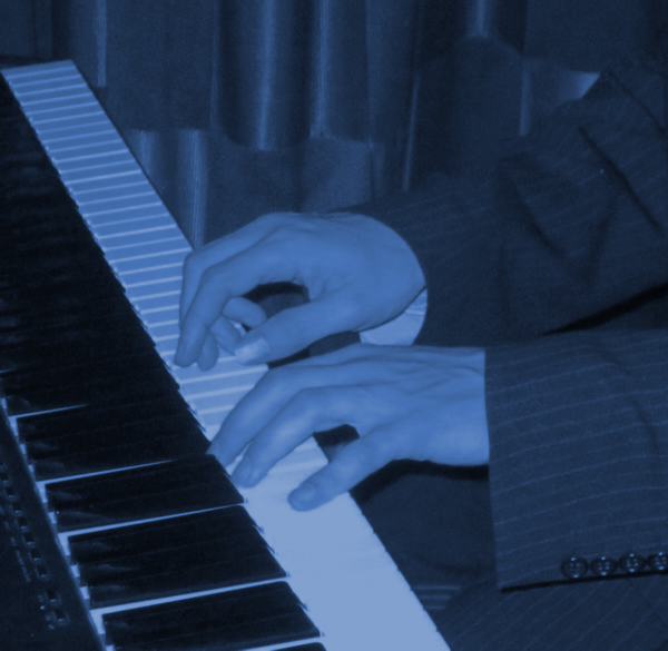 Cocktail jazz piano, jazz pianist and jazz band for hire.